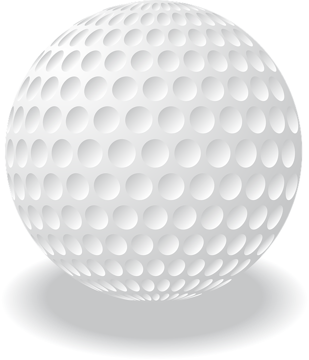 Golfball vector black and white. Golf ball free group