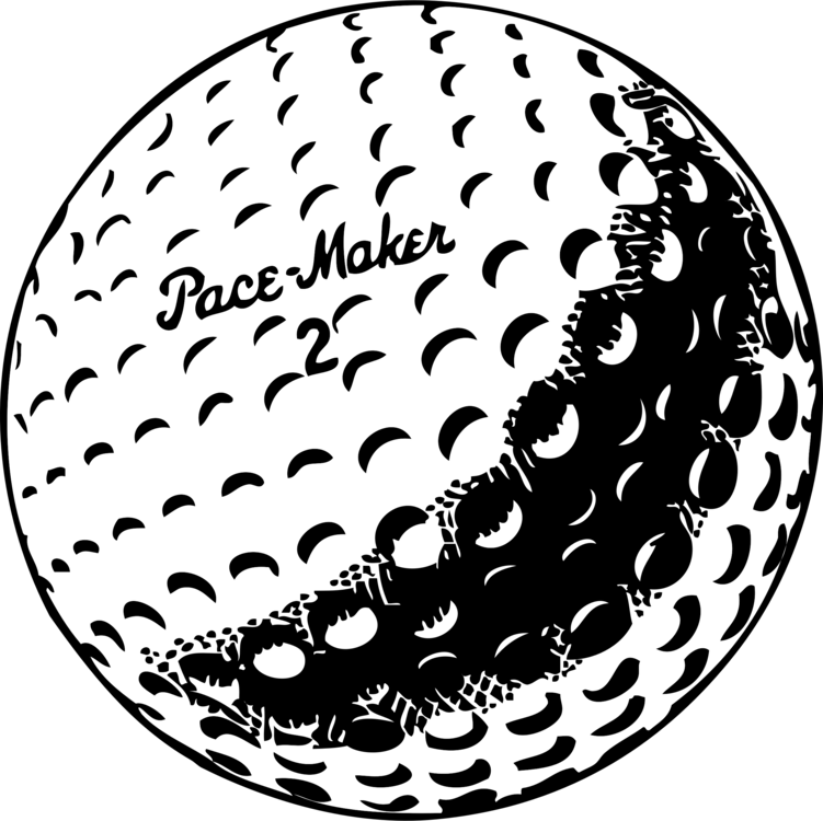 Golfball vector file. Golf balls drawing tees