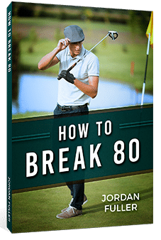 Golfer drawing golf swing. How to draw the
