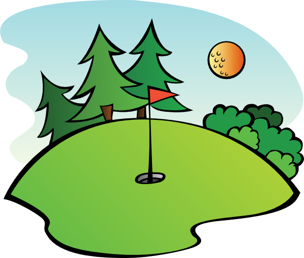 Golf course flag png