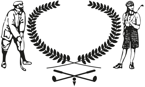 Golfer drawing fine. Home goulburn golf club