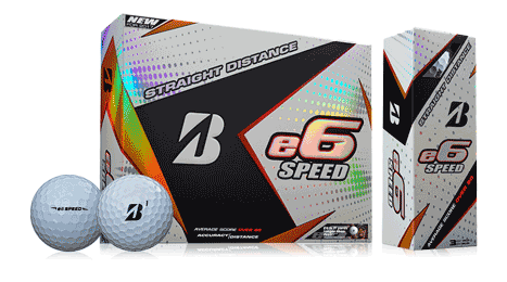 Golfer drawing bold. E speed bridgestone golf
