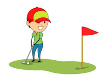 Easy at getdrawings com. Golfing clipart cute svg transparent download