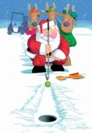 Golfing clipart golf lesson. Best christmas images