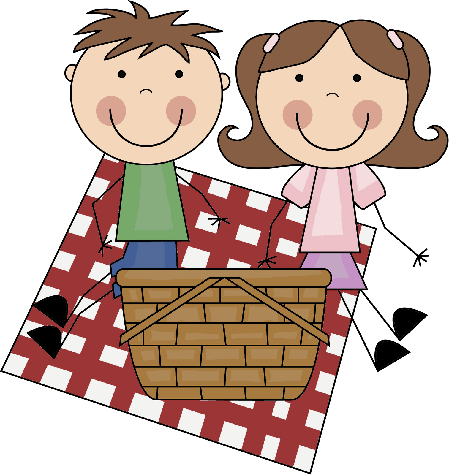 Picnic clipart youth. Free luncheon border cliparts