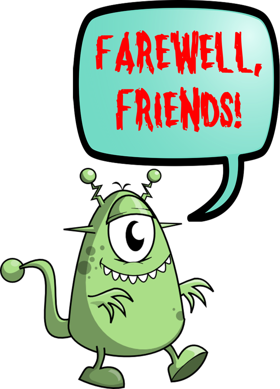 Retirement clipart goodbye. Free celebration cliparts download