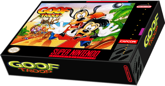 goof troop snes png
