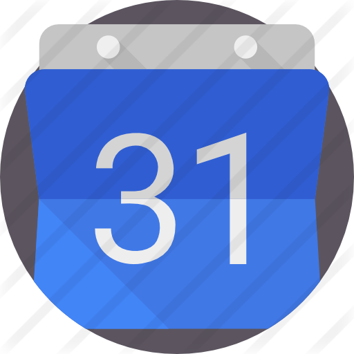 Google calendar icon png. Free brands and logotypes