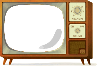 Tv doodle png. Th birthday clipart