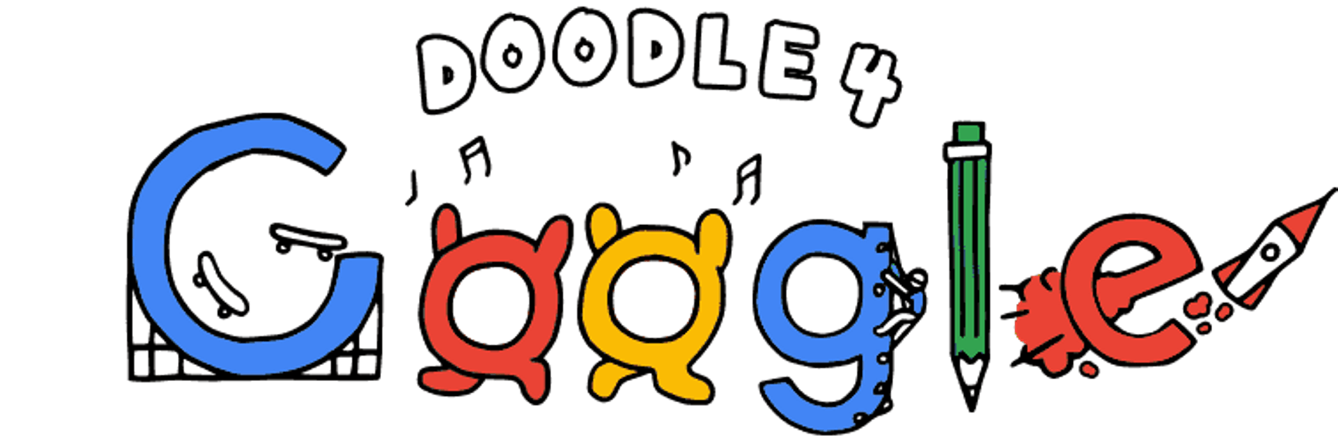 Googlr drawing doodle 4 google. Contest asks students