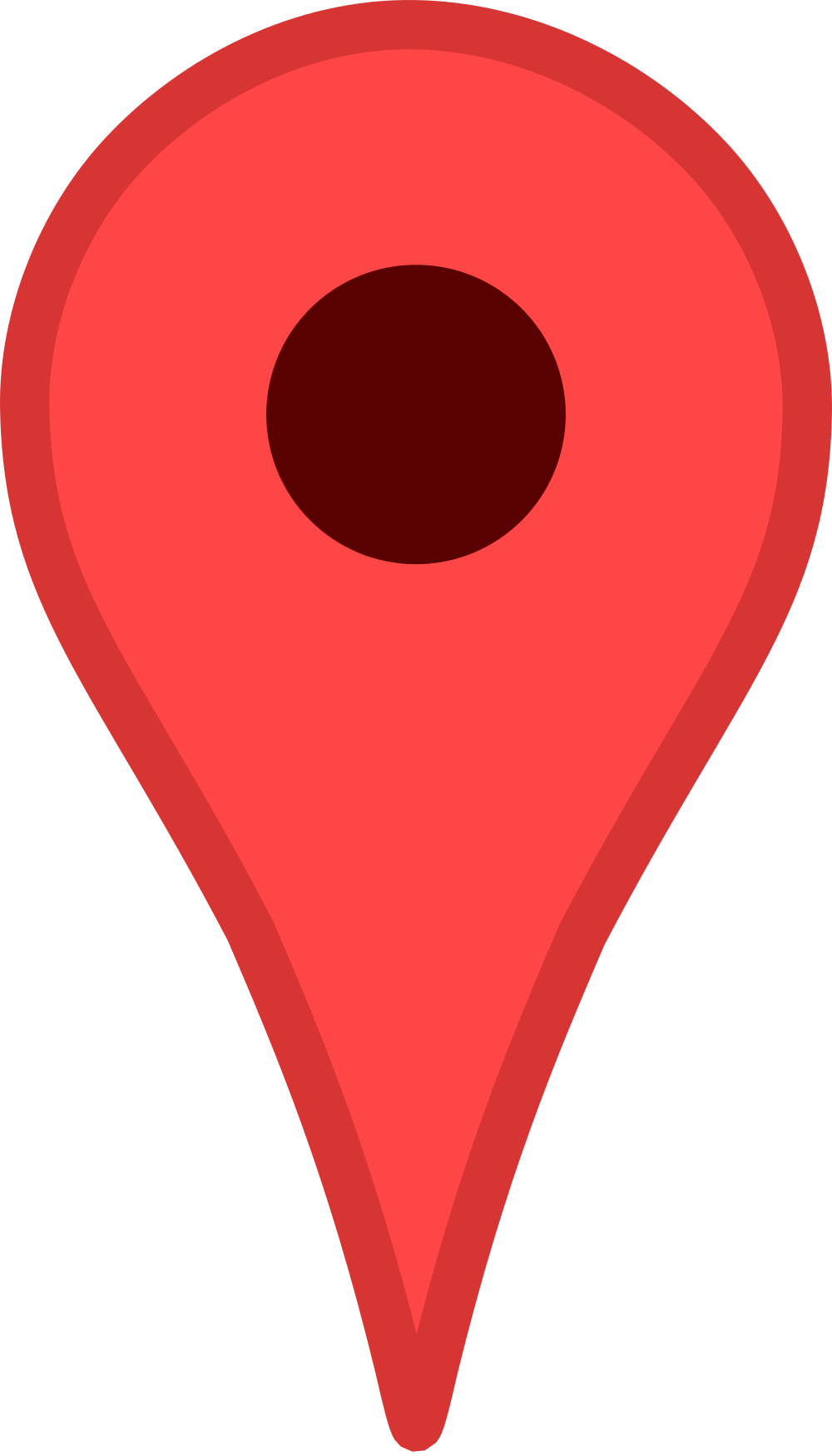 Vector pointers maps google. File pin svg wikimedia