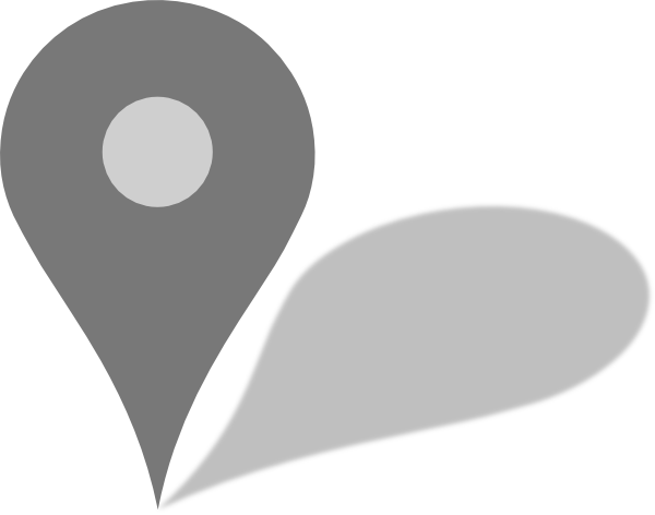 Google map png. Maps grey marker w