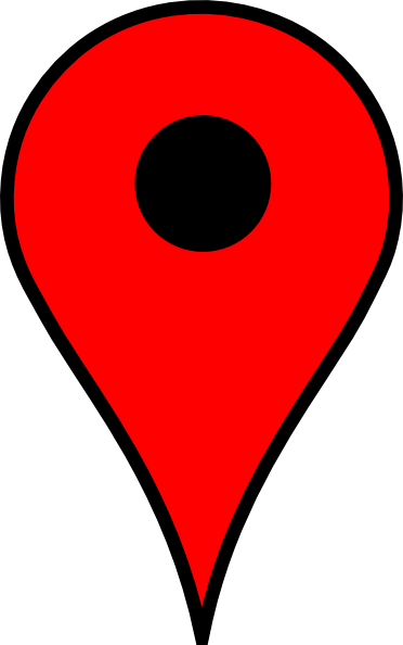 Google maps pin png. Map red clip art