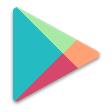Google play png. Free colorful icons by