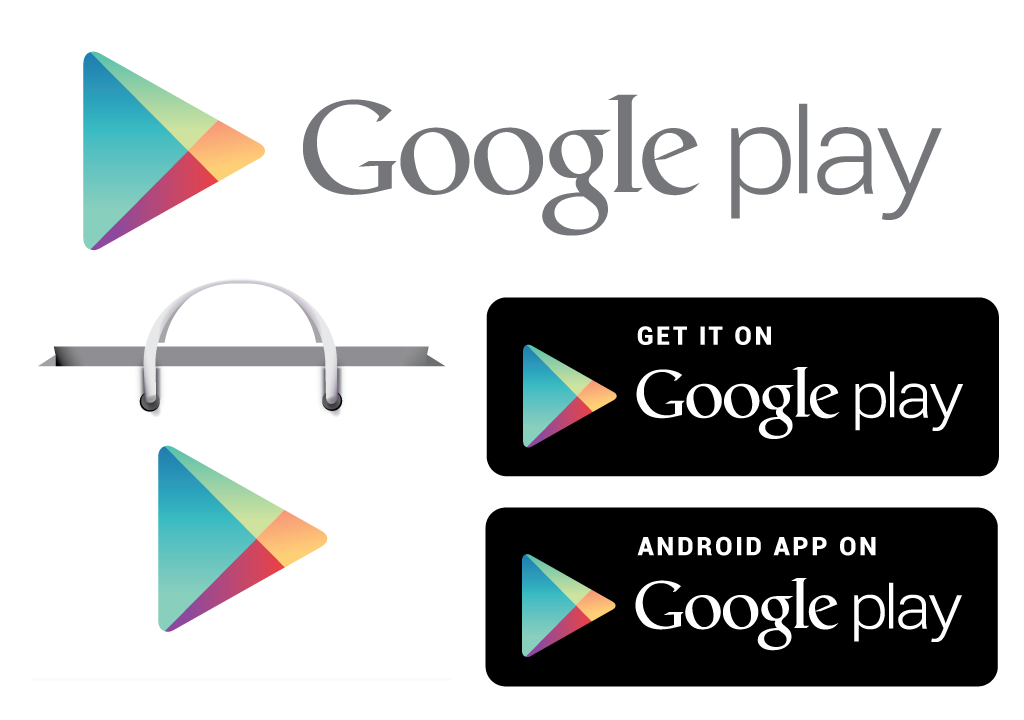 Google play transparent png. Strore icons vector free