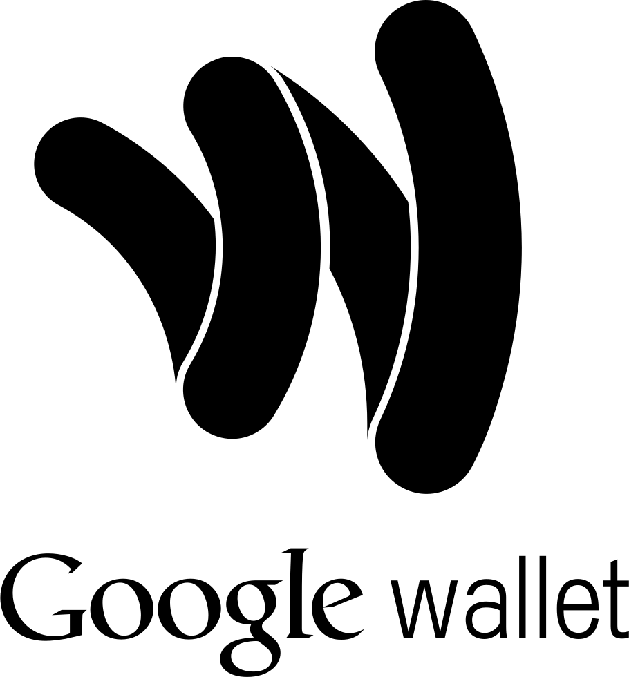 Google wallet png. Pay logo svg icon