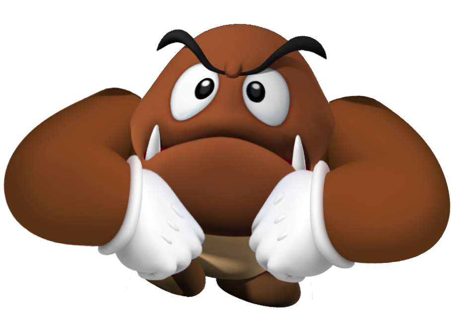 Goomba transparent stacked. Ultraguy s death battle