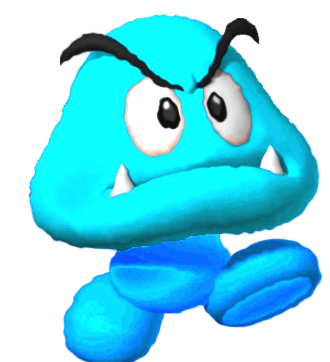 Goomba transparent ice. Image png fantendo nintendo