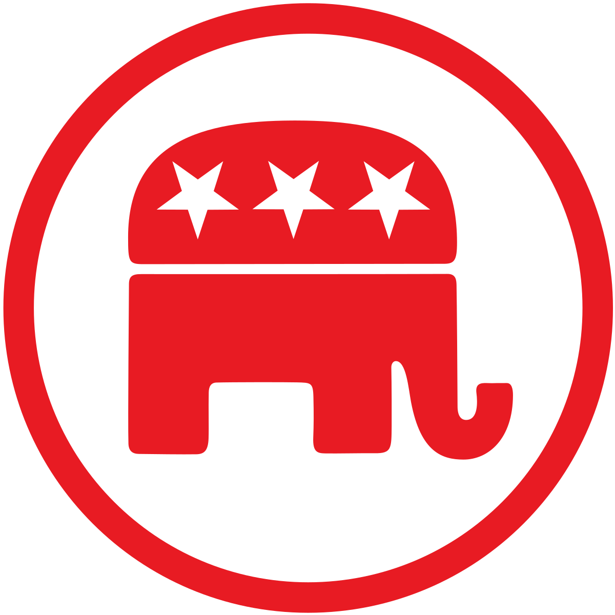 Gop elephant png. Republican party united states