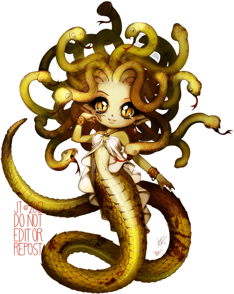 Medusa by juuhanna on. Gorgon drawing picture freeuse library