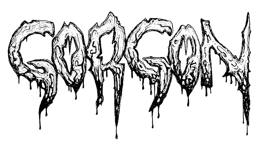 Osmose productions extreme music. Gorgon drawing clip art free stock