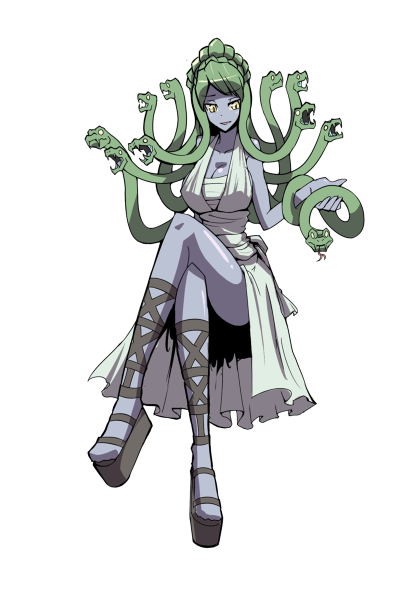 Anime cyclops game castlevania. Gorgon drawing three png freeuse
