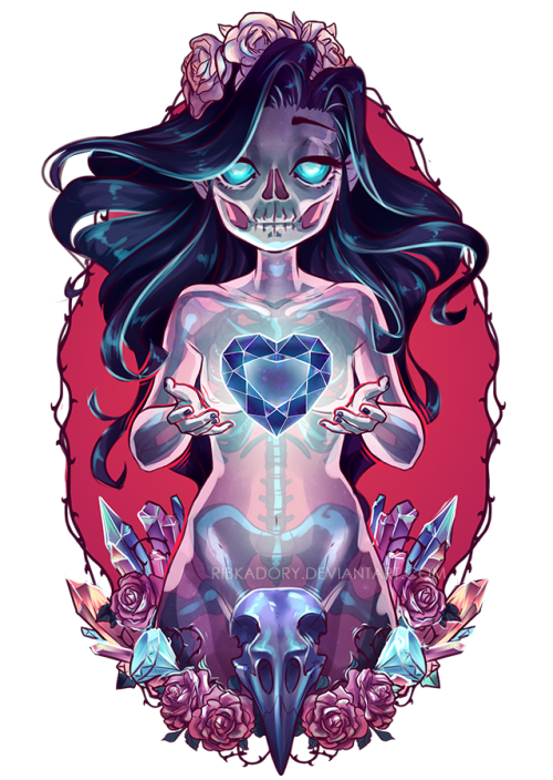 Sketchpad drawing skeleton twin. My ghost girl for