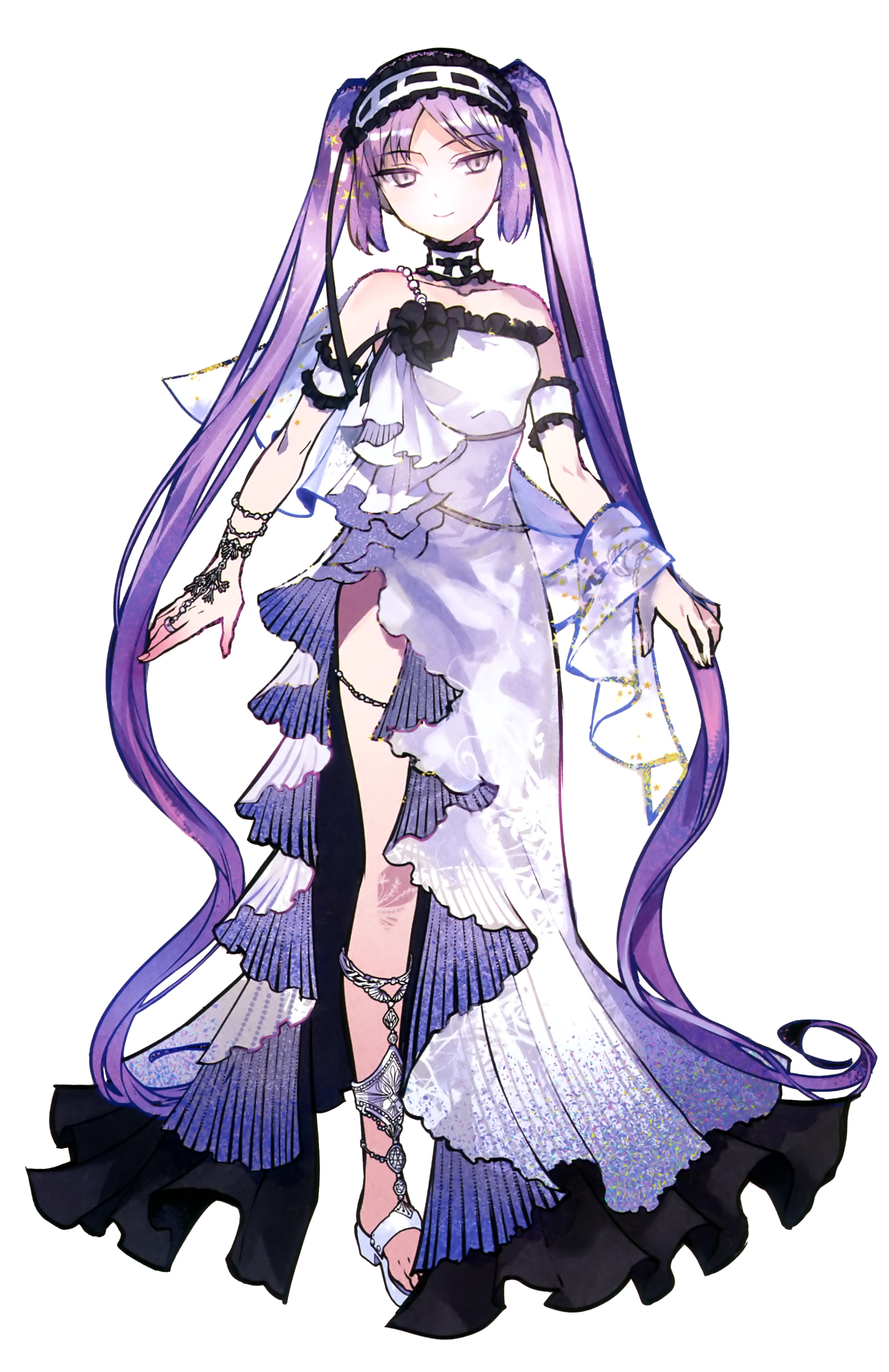Gorgon drawing sisters. Archer of fate grand