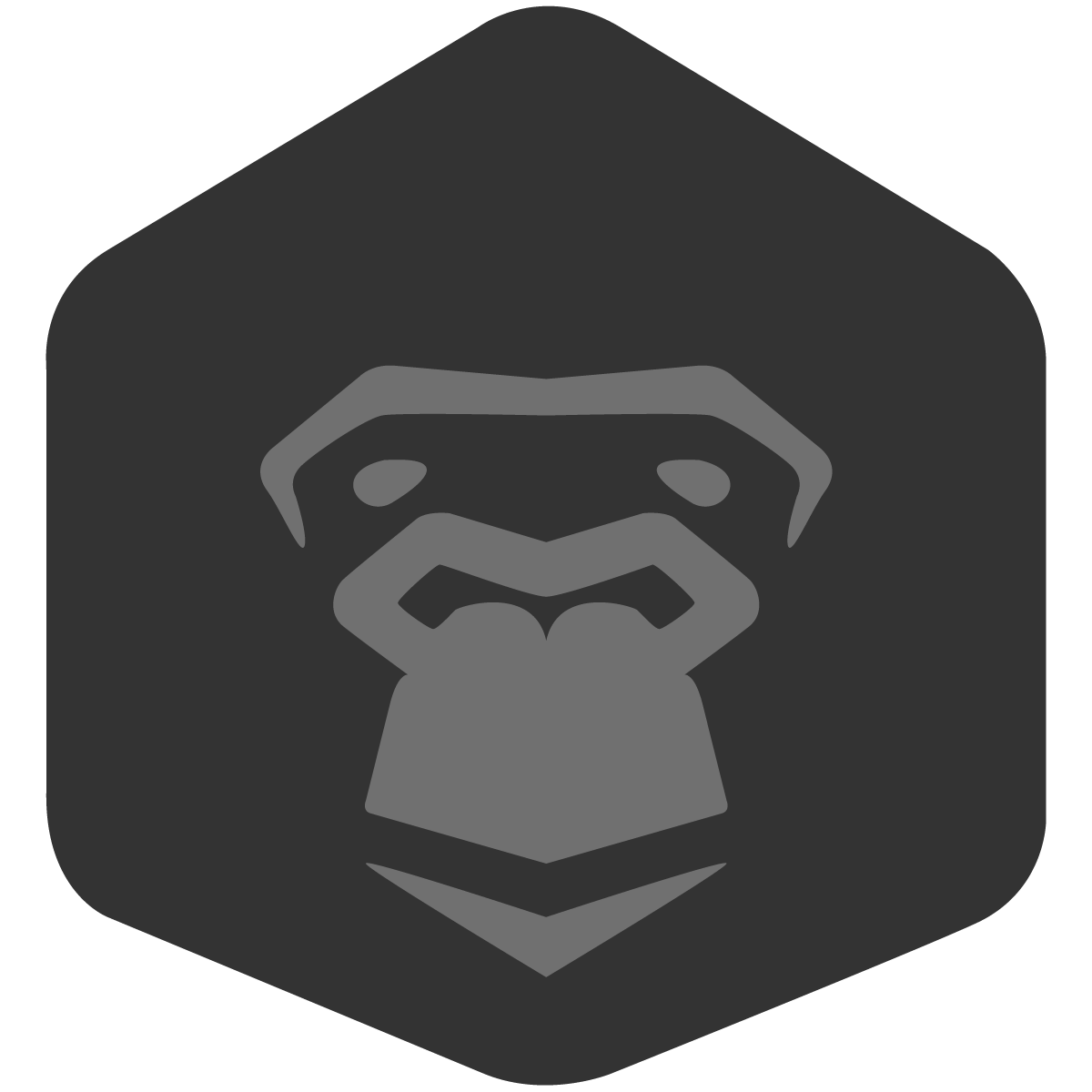 Gorilla head png. Give world class fundraising