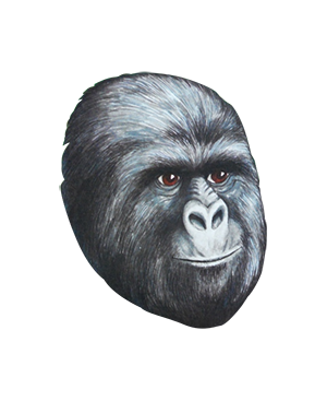Gorilla face png. Transparent pictures free icons