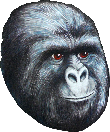 Gorilla face png. Pol politically incorrect thread
