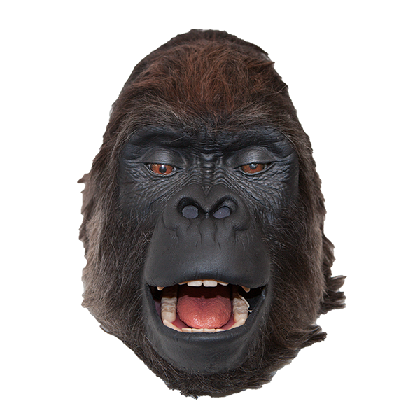 Gorilla head png. Special effects animal suits