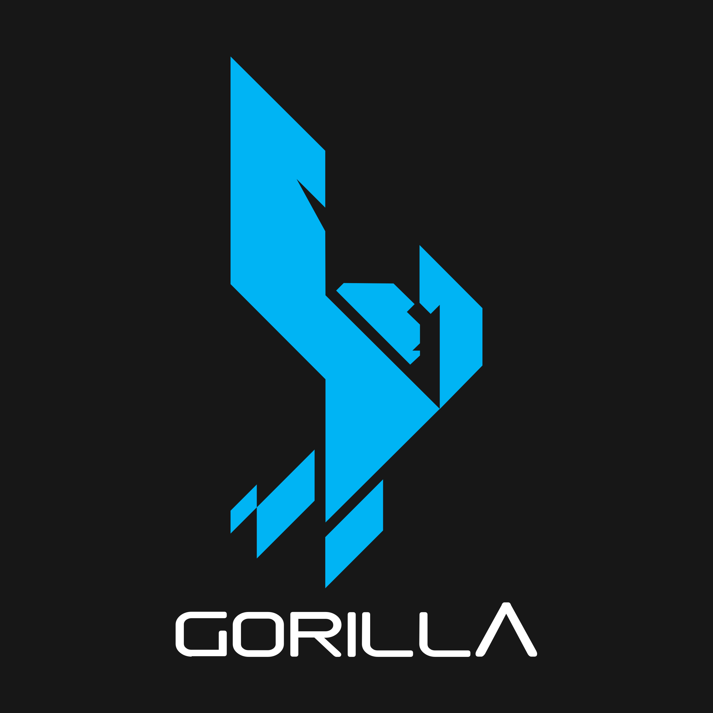 Vector gorilla logo. Png transparent svg freebie