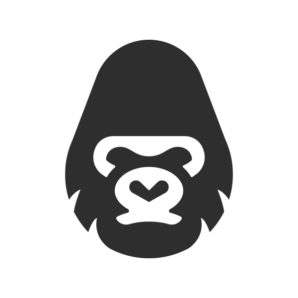 Gorilla logo png. The shop