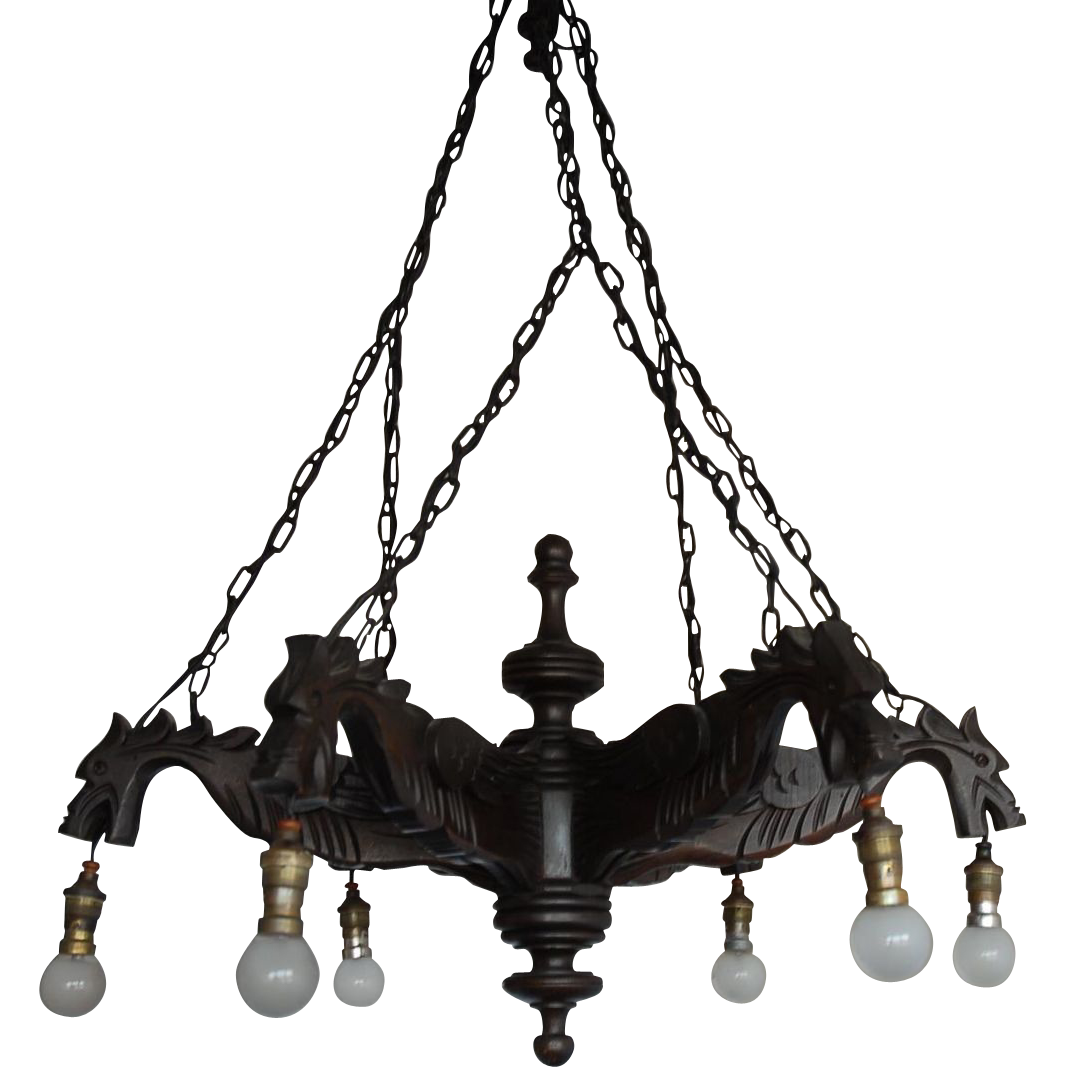 Gothic chandelier png. Gorgeous fine carved wood
