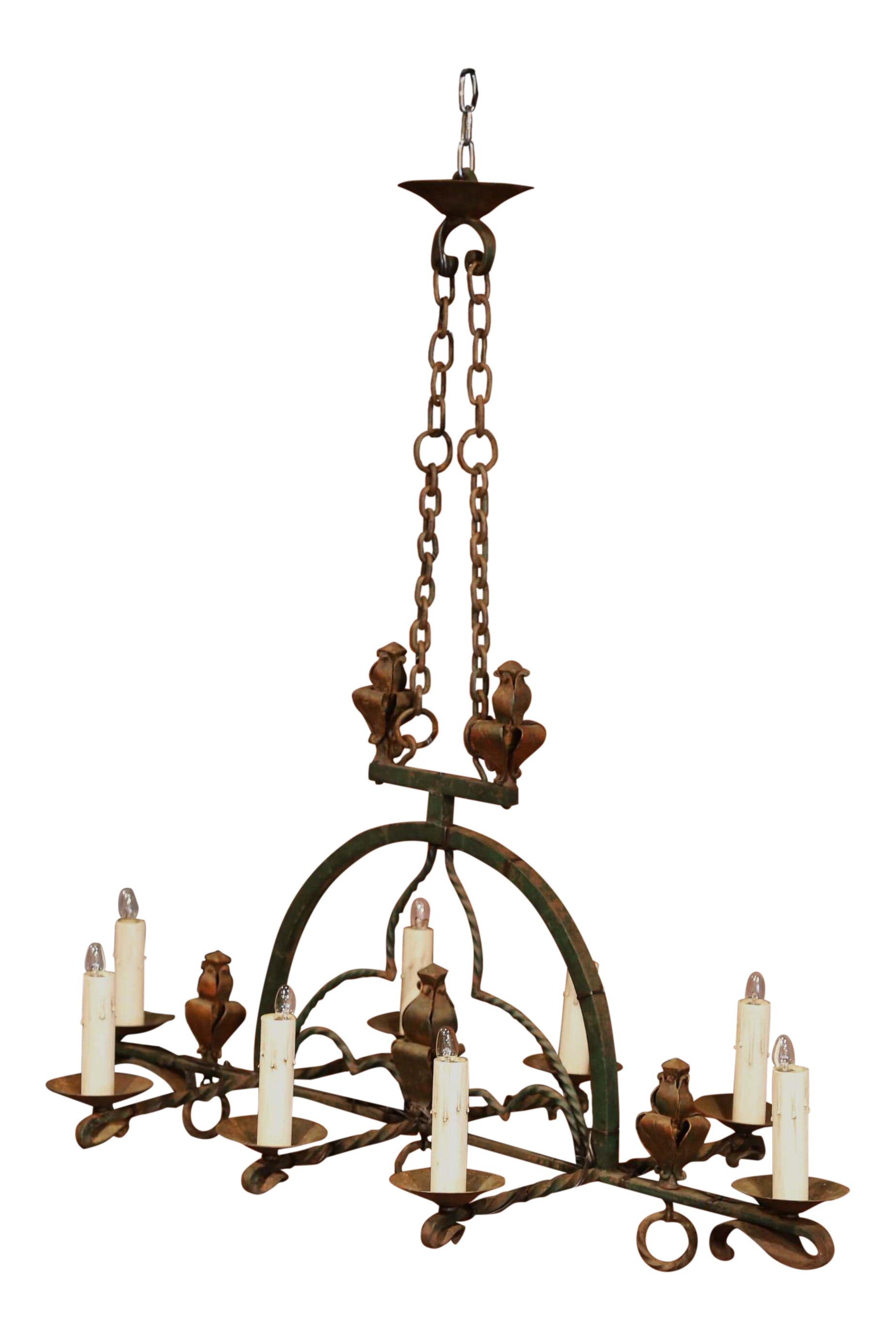 Gothic chandelier png. Late th century french