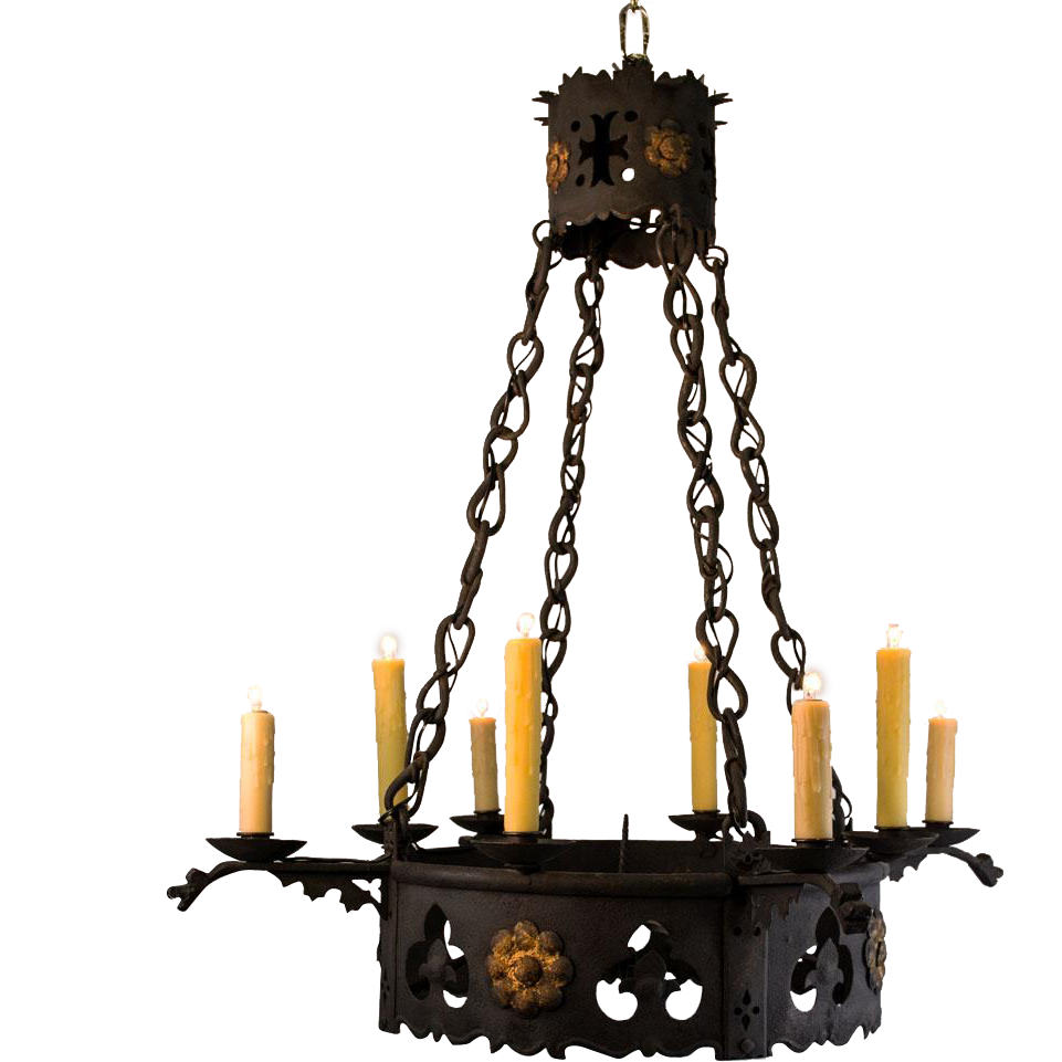 Gothic chandelier png. S light french