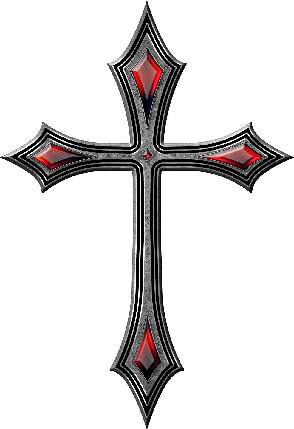 Crucifix vector gothic cross. Drawing tattoo k mehr