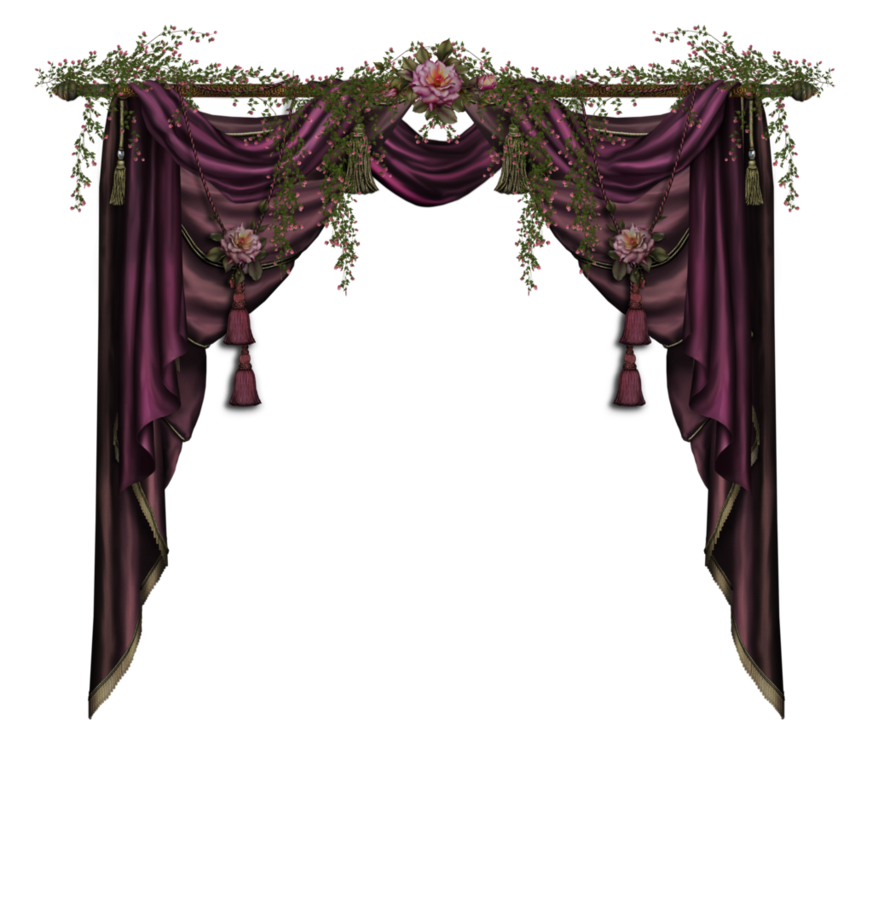 Gothic curtains png. Jaguarwoman curtain by collect