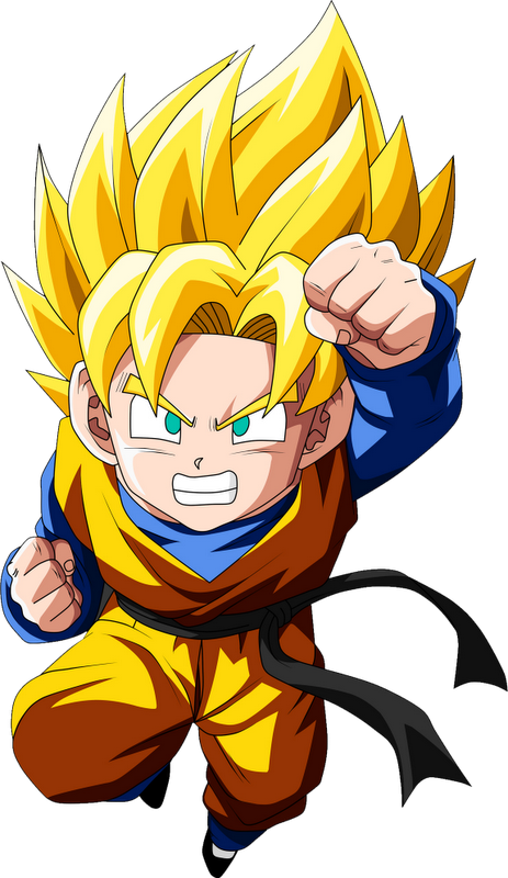 Gotrunks statue png