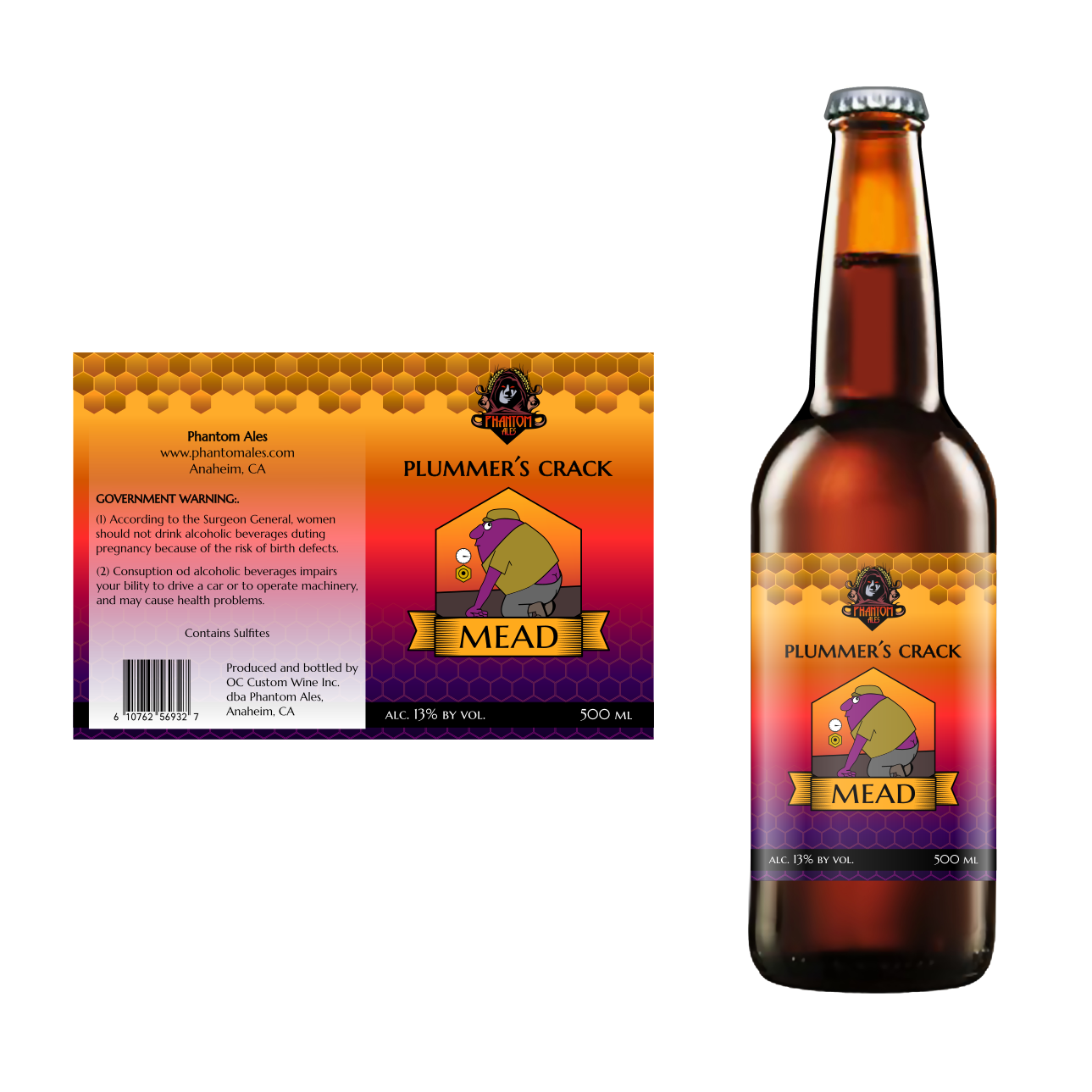 Government warning alcohol png. Playful label designs