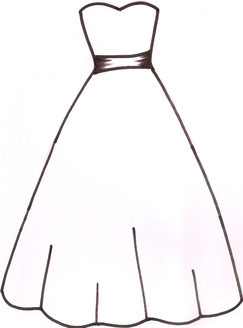 Gown clipart. Dress silhouettes wedding silhouette