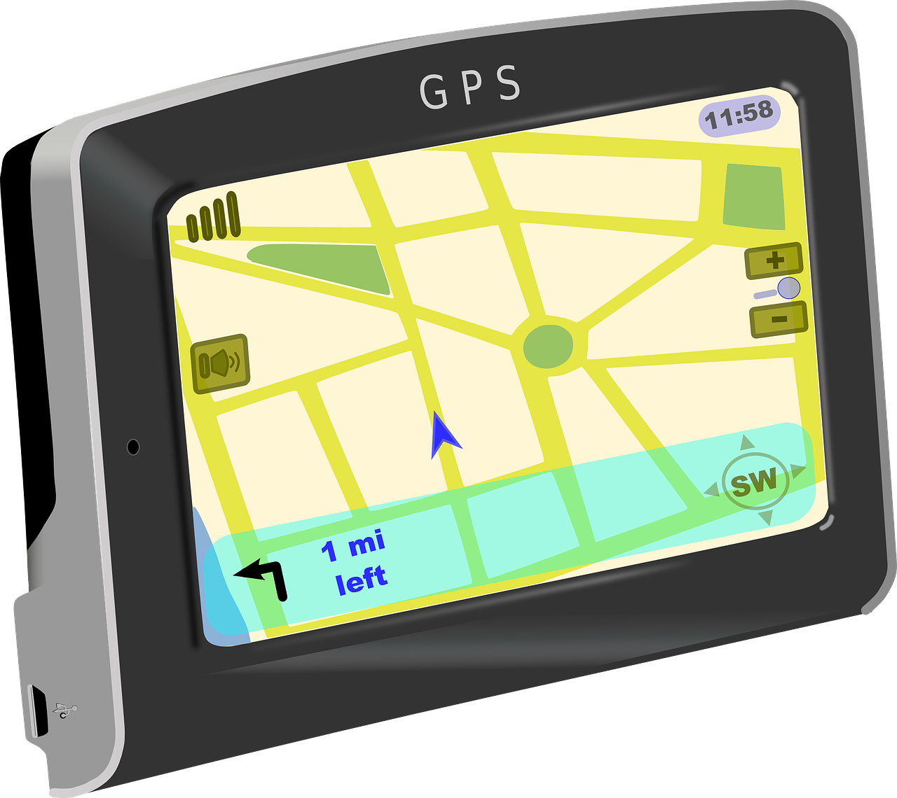 Gps clipart gps tracking. System aaisol