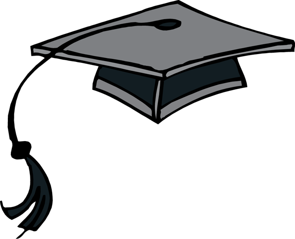 Grad cap png doodle. Graduation hat flying caps