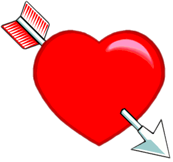 Grades clipart heart. And arrow true love