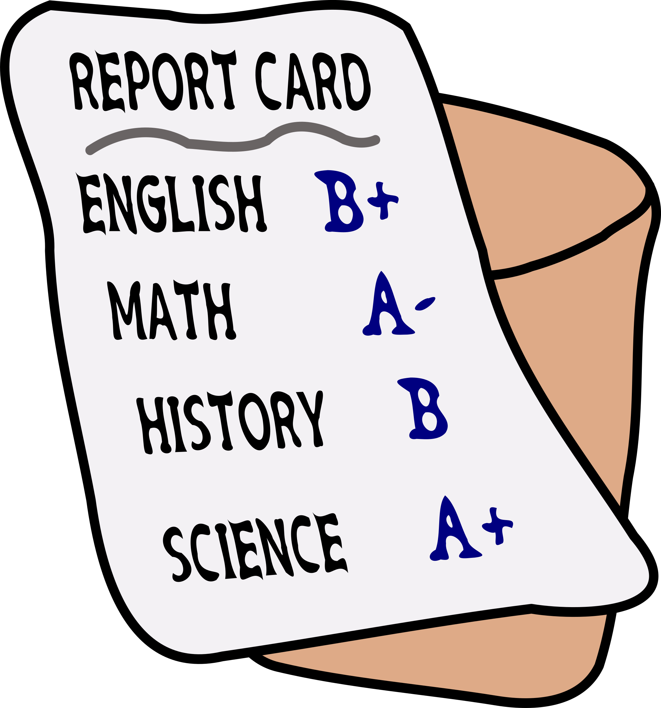 report card png