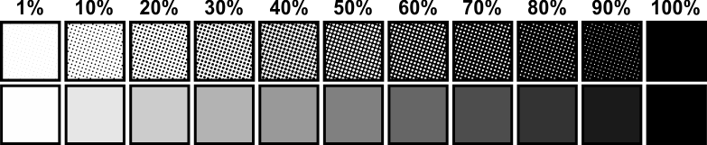 Gradient dots png. Understanding halftones and simulated