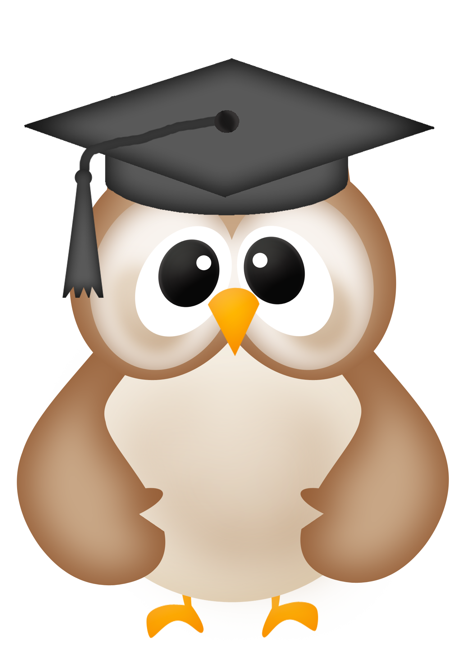 Graduate drawing owl. Graduation clipart panda free