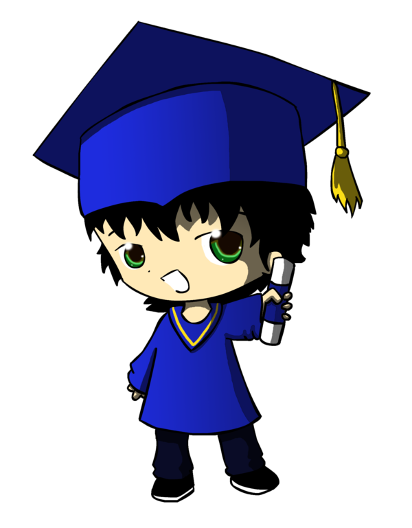 Graduate drawing animated. Anime png graduation quote