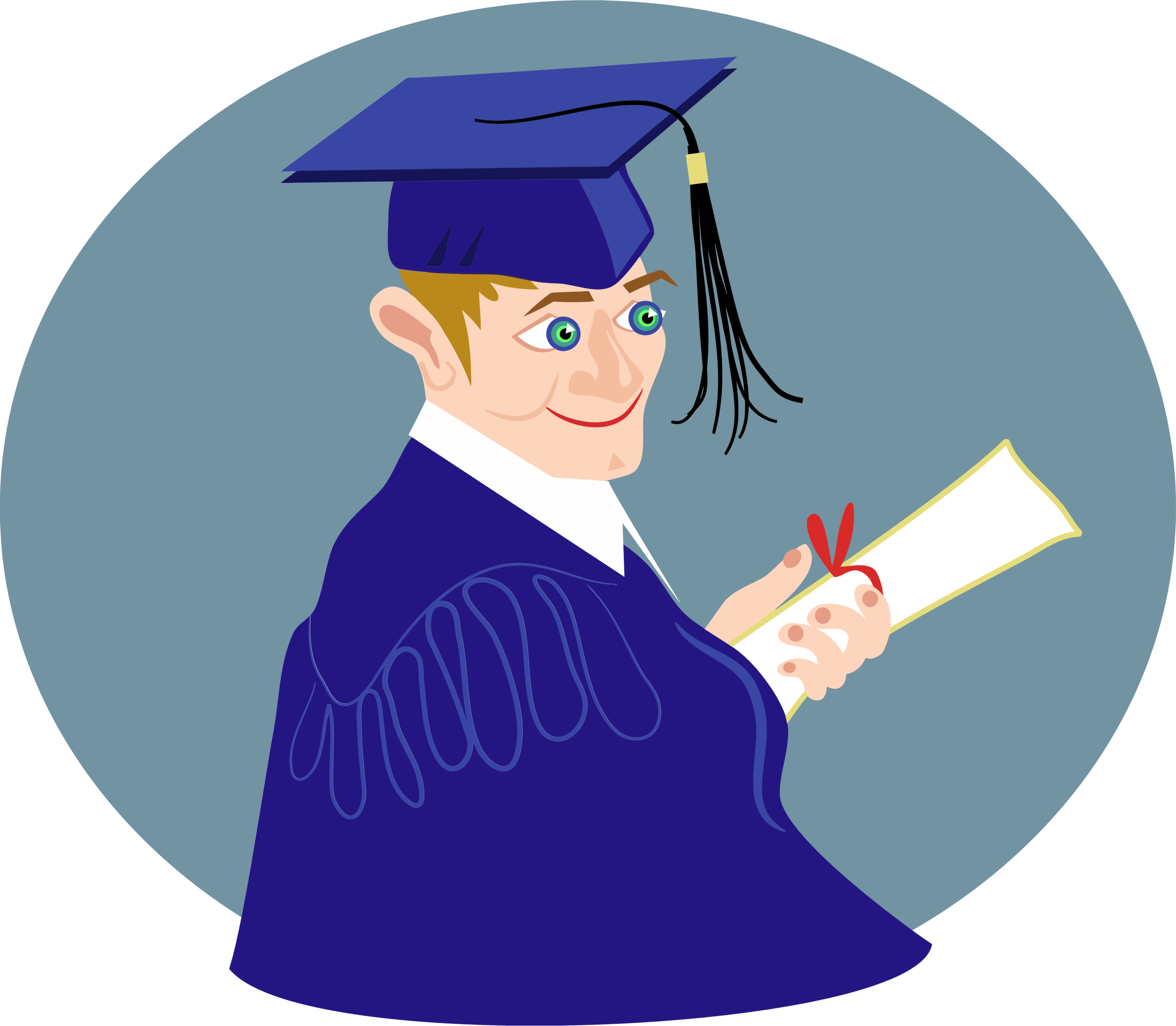 Graduation boy png. Icons free and downloads